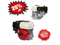 HONDA ENGINE GX 200 SH-Q4 6,5HP - 20mm (WITHOUT REDUCTION AND CLUTCH)